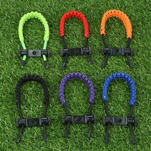 Archery-Bow-Wrist-Sling-Braided-Nylon-Cord-Rope-Strap-Adjustable-Compound-Bow