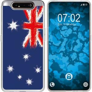 Samsung-Galaxy-A80-Coque-en-Silicone-WM-Australie-M2-Case-films-de-protection