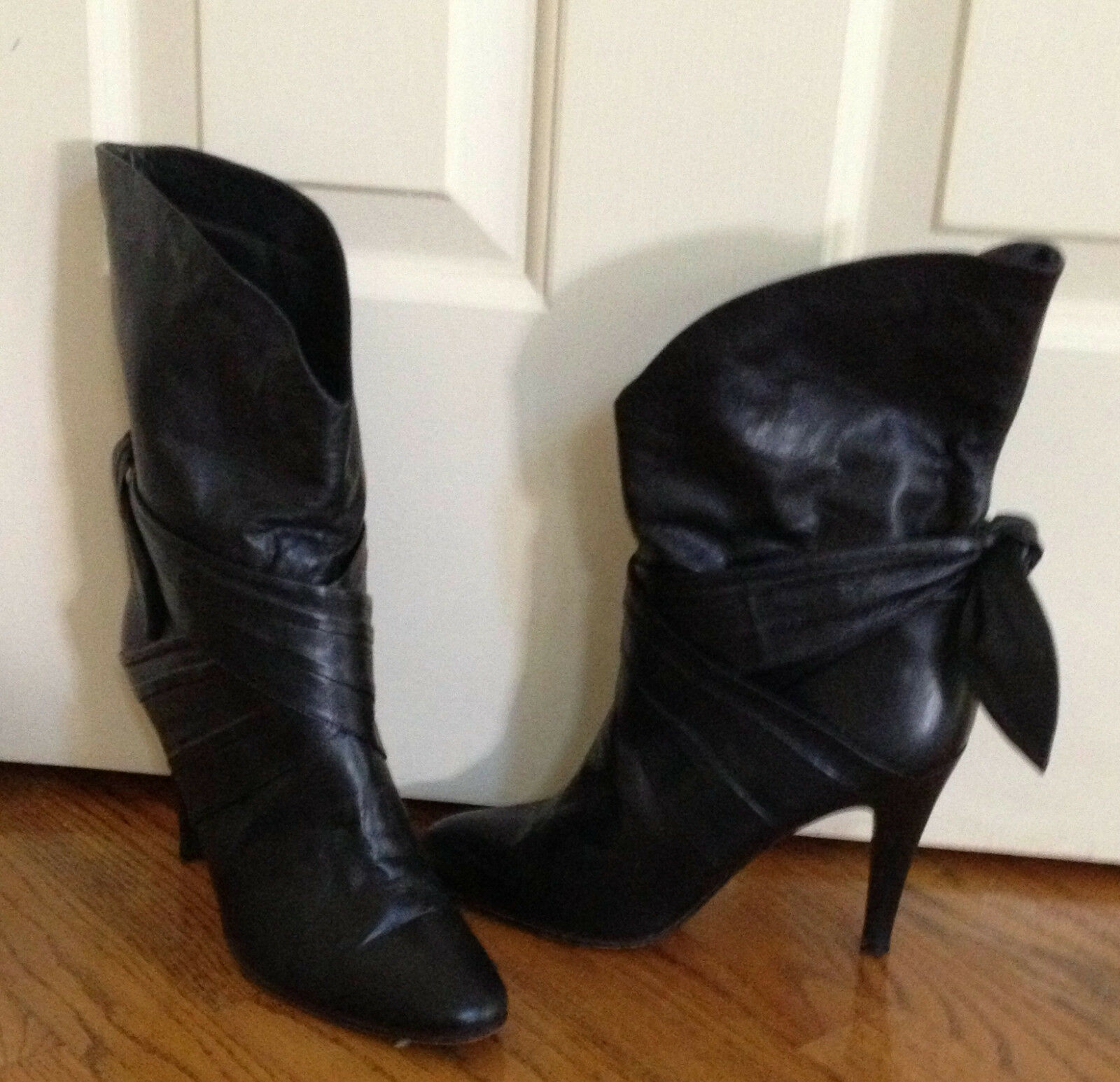 WOMEN'S Stiefel BLACK HIGH SIZE HEELS SIZE 10 SIZE HIGH 40 271b40