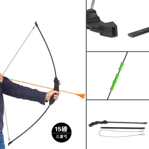 15lbs 45/'/' Takedow Recurve Bow f// Kids Children Youth Practice Archery Games NEW
