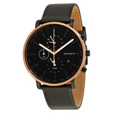 Skagen Hagen Black Dial Mens Watch SKW6300