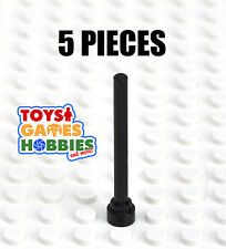 *NEW* LEGO 5x Black  Whip / Aerial Antenna 359726  3957 - Spaceship Building