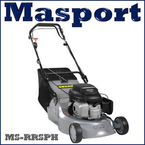 Masport-18-034-RRSP-H-Self-Propelled-Rear-Roller-Alloy-Deck-Lawnmower-2Yrs-Warranty