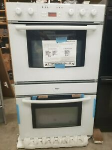 Bosch 30 Inch Double Oven New Old Stock Open Box White ...