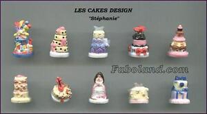 "Feves Personnalisées - Cakes Design ""stephanie"" - Pp1551 - 10 Sujets Qpoe8aov-07214028-839284945"