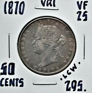 1870-LCW-Canada-50-Cents-VF-25