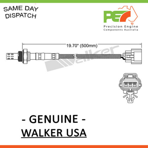 New WALKER USA Oxygen Sensor O2 For Mazda 121 323 DW BG BA 1.3L B3