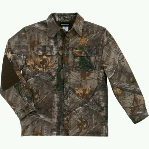 SIZE XL NWT REALTREE Men/'s /'REALTREE XTRA/' Camo HUNTING SHIRT JACKET  WARM