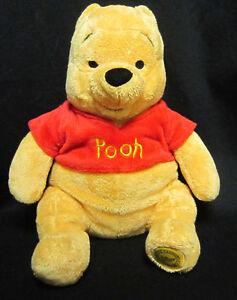 "16"" Disney Store Winnie The Pooh Plush Bear"