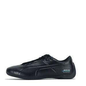 Puma-Mercedes-AMG-Petronas-Future-Cat-Homme-Baskets-Chaussures-Noir-Indigo