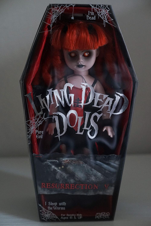Living Dead Dolls INFERNO Resurrection Series 5 Doll Puppe wie neu  | Helle Farben