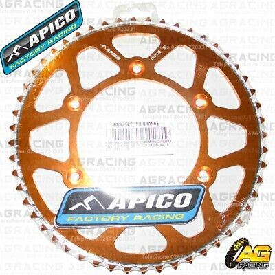 2019 Mode Apico Evolite Orange Rear Sprocket 52t 520 For Ktm Sx 125 1992