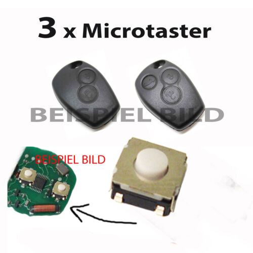 Für Dacia ~ Schlüssel Funkschlüssel Fernbedienung Taster Mikroschalter Schalter