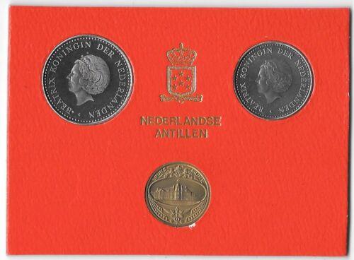 Token B8 NETHERLANDS  1 CENT 2-1//2 GULDEN MINT YEAR SET 1980 6 Coins