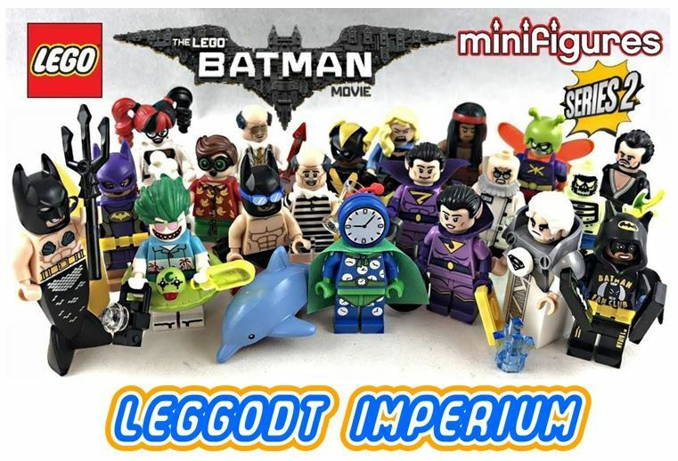 LEGO Minifigures Batman Movie Complete Series 2 minifigs set FREE POST