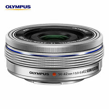 OLYMPUS M.ZUIKO Digital ED 14-42mm F3.5-5.6 EZ Silver Lens <Bundle Bulk package>