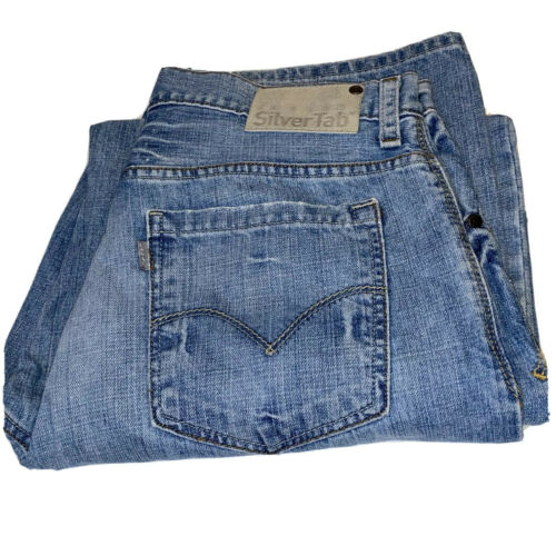 Vintage Levi Silvertab Baggy Jeans Men's 34x34 Ska