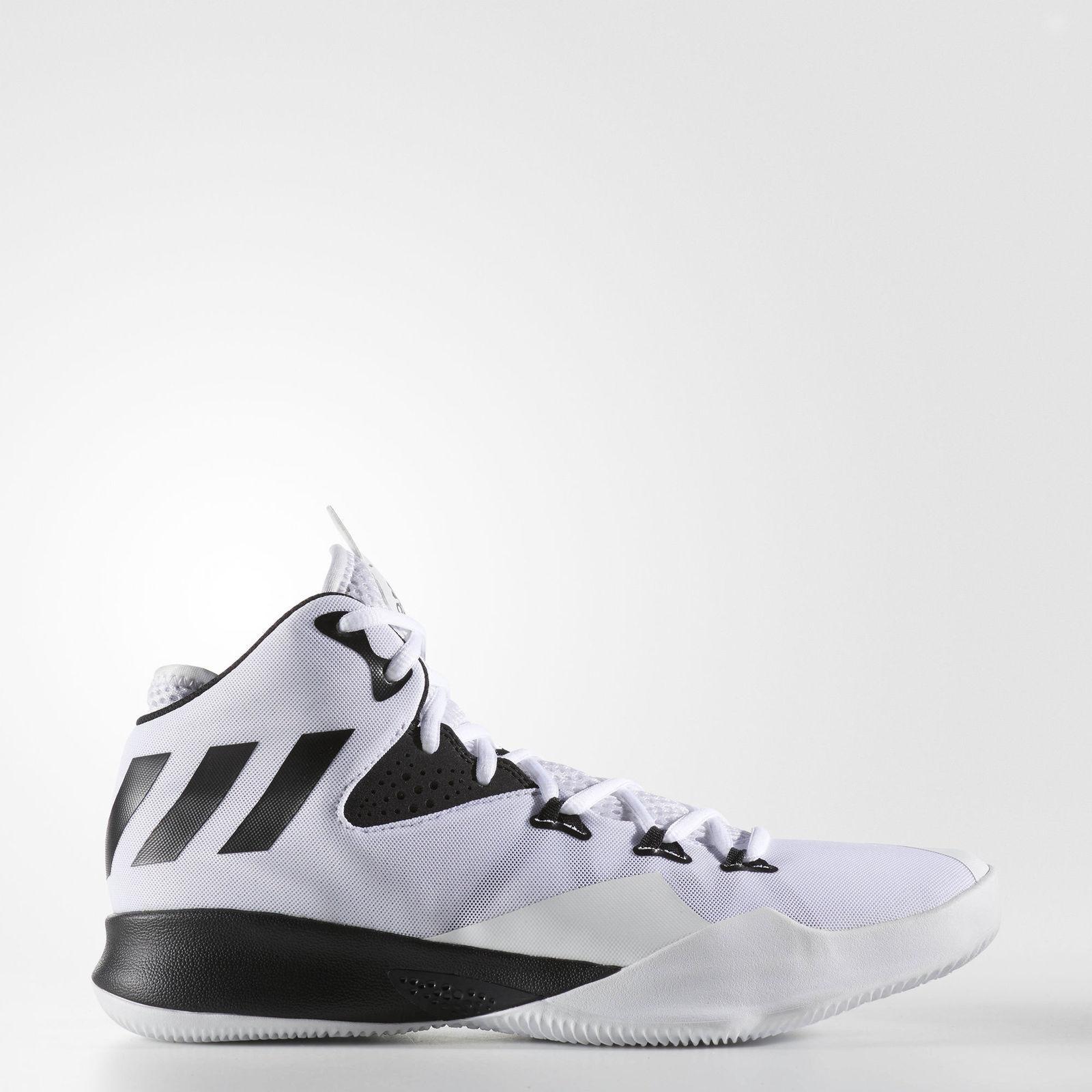 Gli uomini è adidas duello minaccia scarpe da basket bianco   nero 2017 taglia 12 bb8377 nuova   Stile elegante    Uomini/Donna Scarpa