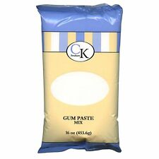 New CK Products GUM PASTE MIX Certified Kosher 16 oz Package For Cake Decorating
