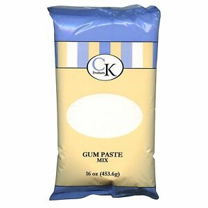 Gum Glue Cake Decorating : New CK Products GUM PASTE MIX Certified Kosher 16 oz ...