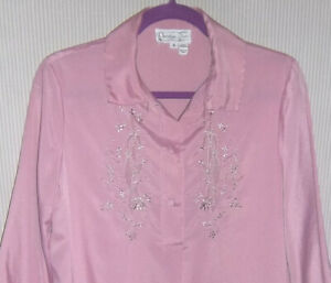 dc71cf0d984525 Vintage 1980's Christian Dior Size S Lilac Night Shirt ...