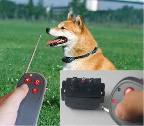 4 in 1 training collar Remote Pet Training Vibra /& Electric Shock XI