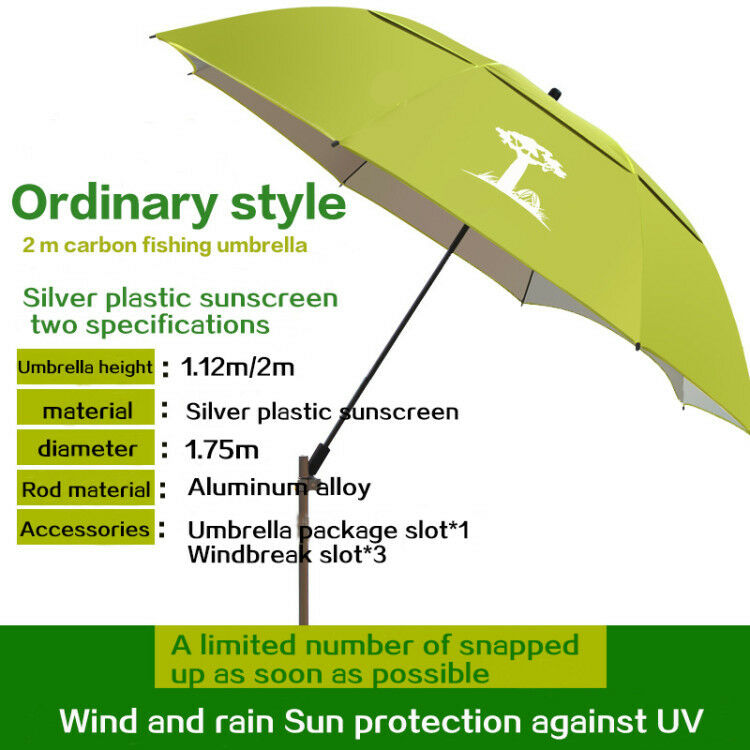 Outdoor Canopy Sun Umbrella  Portable   Fishing redate Camping Shelter Umbrella  take up to 70% off