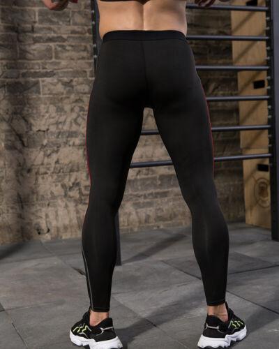 Mens Compression Pants Workout Leggings for Gym Basketball Cycling Yoga Hiking