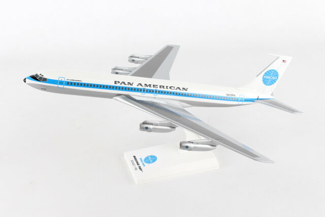 SkyMarks Pan AM Boeing 707 SKR877 1/150, REG# N415PA, New