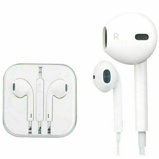 Apple Earpods White In Ear Canal Headset For Sale Online Ebay