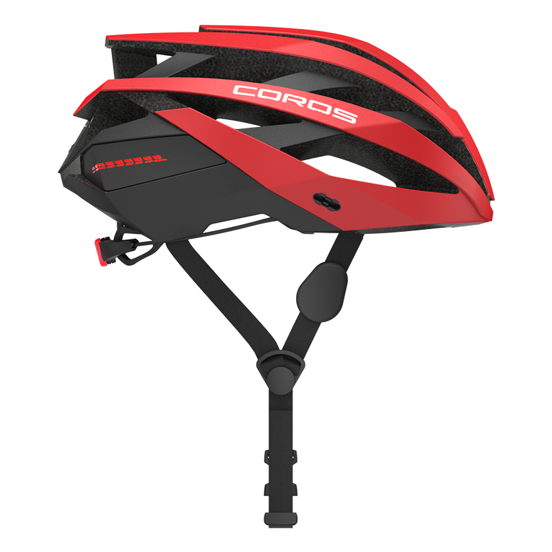 Coros OMNI Cycling Smart Helmet CPSC Matte rosso Medium