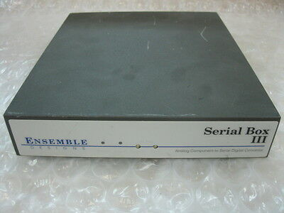 Enterprise Networking, Servers Forceful Ensemble Serial Box Iii Analog Component To Serial Digital Convertor Computers/tablets & Networking