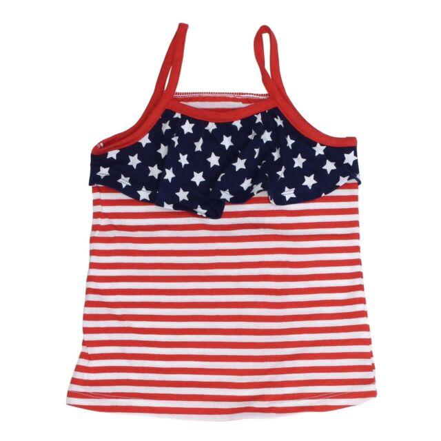 Stars /& Stripes Dress Sizes 12M 24M NWT Jumping Beans Red White Blue