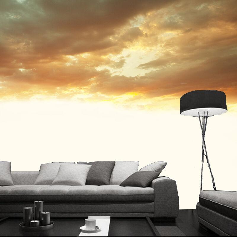 3D Couleur Nuage 9 Photo Papier Peint en Autocollant Murale Plafond Chambre Art
