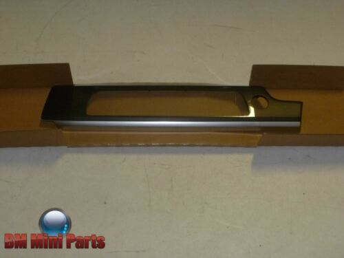 BMW F01 DASHBOARD CENTRE DECORATIVE FINISHER FINELINE NATURAL WOOD 51459155148