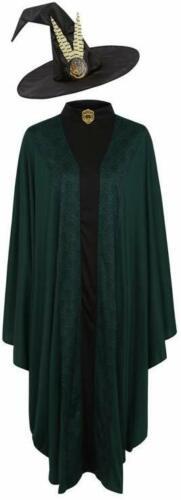 George Harry Potter Professor Mcgonagall Erwachsene Kostüm Kleid Outfit /& Hut