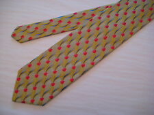 KOLTE Couture Italy Taupe/Gold/Pink/Blue 100% Silk Neck Tie from Syd Jerome