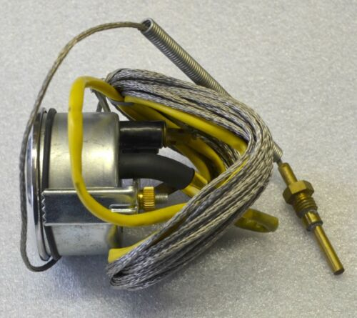 Fernthermometer mechanisch für luftgekühlte Motoren 60mm 7m Kapilar Geber  60228