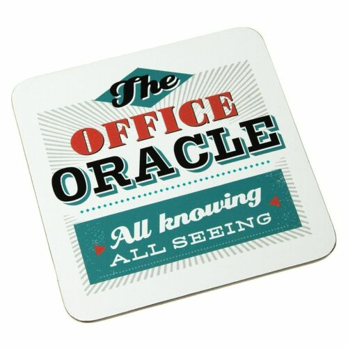 Back Chat Backchat /'The Office Oracle/' Coaster