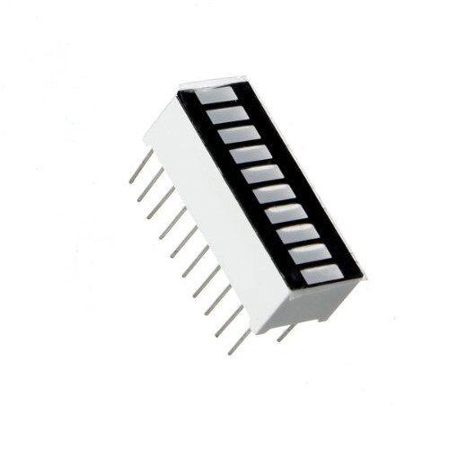 50Pcs 10 Segment Digital Green Led Bar Graph Display Ultra Bright New Ic he