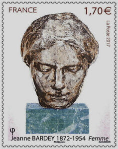 TIMBRE-5154-NEUF-XX-Jeanne-Bardey-Sculptrice