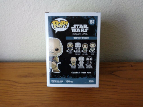 Funko POP Star Wars Rogue One Weeteef Cyubee NEW MIB IN STOCK MINT *