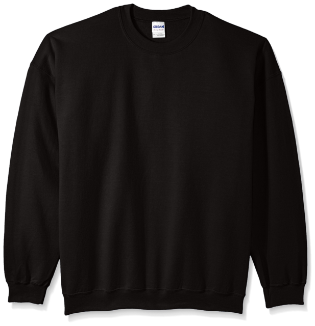 Gildan Mens Fleece Crewneck Sweatshirt