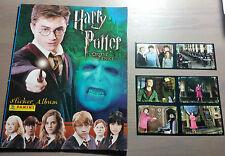 album figurine Harry Potter e l'ordine della fenice,panini (vuoto) +6 figurine