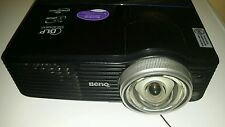 BenQ MP772ST DLP Short Throw Movie Projector 2500 Lumens 720p HDMI (W/Adapter)