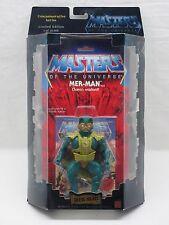 MOTU,Commemorative MER-MAN,MISB,sealed box,MOC,Masters of the Universe,He-man