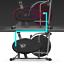 miniatura 9 - Deluxe 2-in - 1 Cross Trainer & Cyclette Allenamento di cardio fitness con sedile