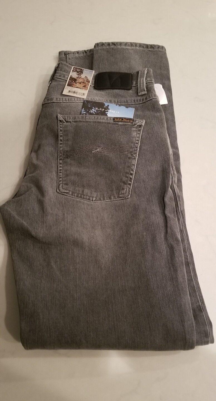 Nudie Jeans, Lean Dean, Size W31 L34, Grey Hunt, Organic Cotton , NWT,