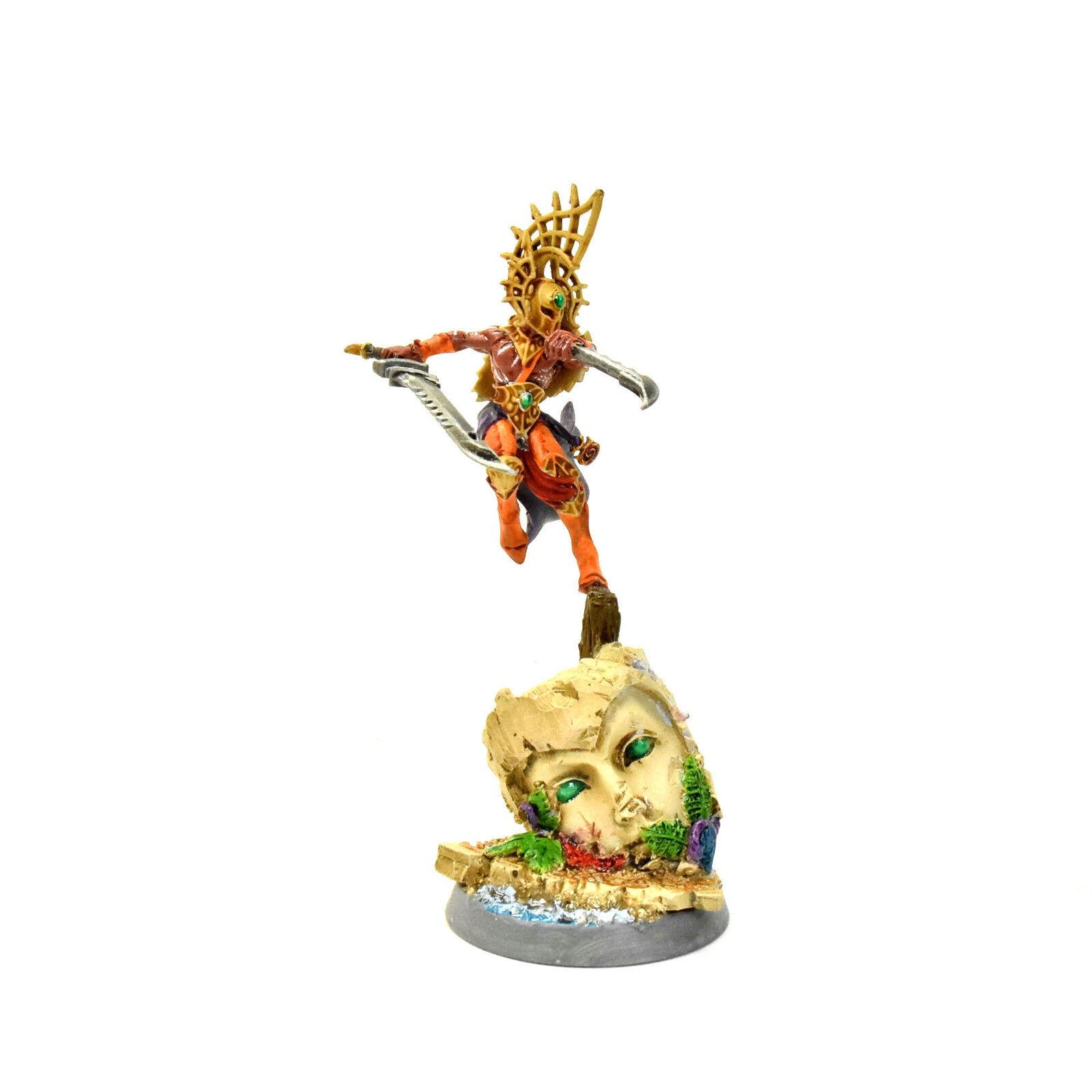 Idoneth deepkin gran rey converdeido Pro pintado warhammer Edad De Sigmar