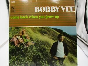 """Bobby Vee """"come back when you grow up"""" LST-7534, LP 33RPM Liberty VG/VG+ c VG+"""